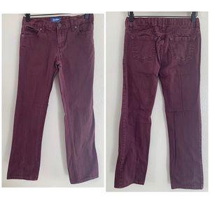 Old Navy Burgundy Slim Fit Jeans - 10